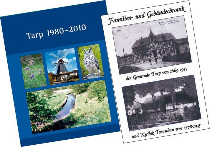 Bilder der beiden neuen Chroniken der Gemeinde Tarp