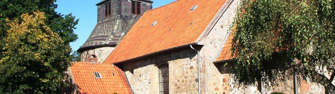 Bild von Kirche in Sieverstedt als Kopfbild der Website